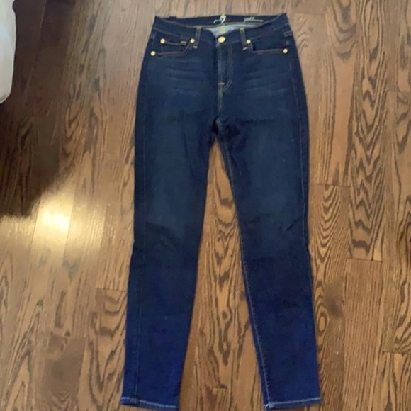 7 for All Mankind Skinny Jeans - Size 27